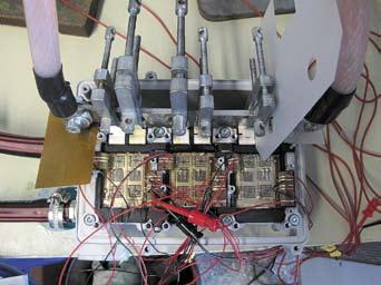 Тестовый инвертор, используемый для измерения тепловых характеристик модулей SKiN