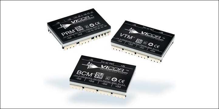Рис. 3. Семейство VI Chip: модули BCM, PRM, VTM