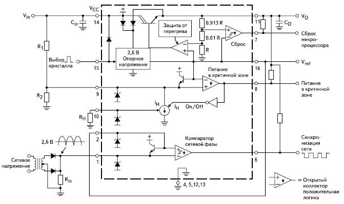 Схема применения МС33160