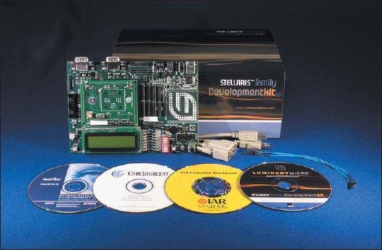 Стартовые наборы и программные инструменты для микроконтроллеров Stellaris от Luminary Micro