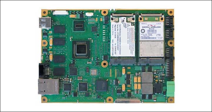 Рис. 4. Внешний вид модуля Proteus в формате одноплатного компьютера