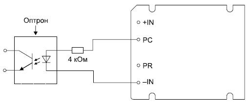 Использование выхода PC для индикации активного состояния модуля