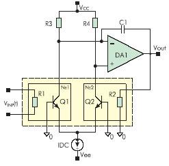 Типовая схема включения резисторно9транзисторного ДТЭП