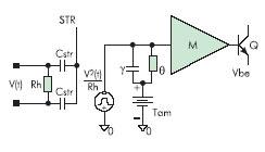 Термоэлектрическая модель резисторно9транзисторного ТЭБ