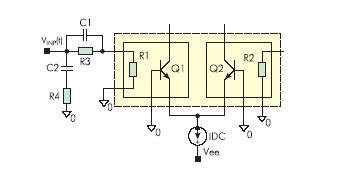 Корректирующие цепи для улучшения высокочастотных параметров ДТЭП