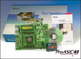 Стартовый набор на базе ПЛИС ProASIC3