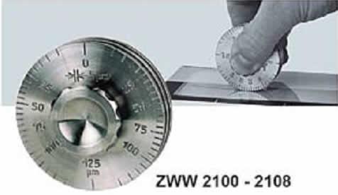 Контроль толщины слоя с помощью измерителя ZWW 2100-2108 (Zehntner)