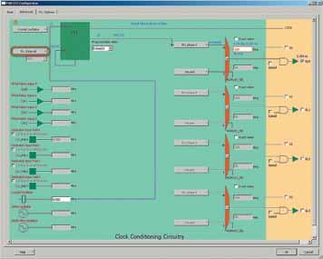 Продолжение конфигурирования формирователя тактовой частоты