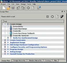 Задание имени проекта SmartDesign