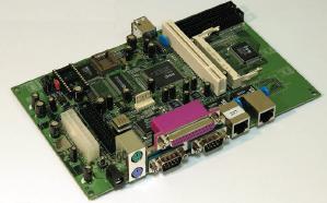 Рис. 3. Промышленный контроллер на R8610