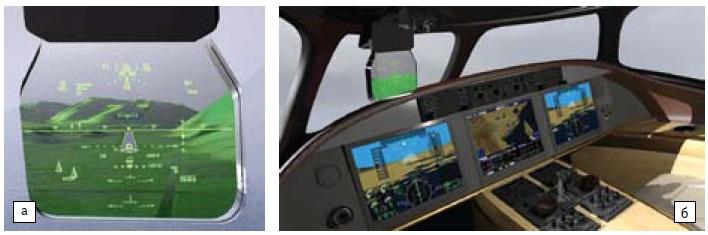 HUD-система Rockwell Collins HGS-3500
