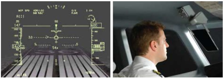 Иллюстрация технологии Q-HUD отBAE Systems
