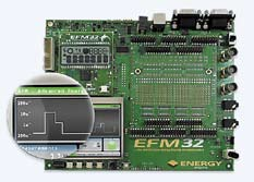 EFM32 Gecko Development Kit