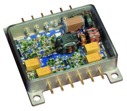 Внешний вид конструкции преобразователя напряжения серии LA100