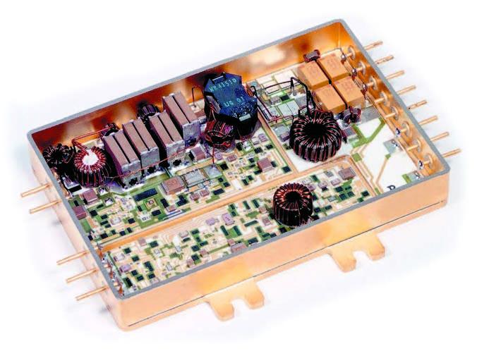 Внешний вид конструкции одноканального DC/DC-преобразователя серии M3N