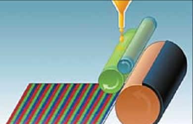 Трафаретная печать цветных фильтров