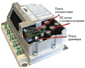Модуль привода вильчатого погрузчика серии LAC