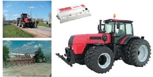 Трактор 300 л. с. с электрической трансмиссией переменного тока