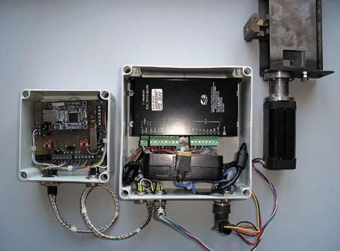 Опытный образец контроллера бесколлекторного двигателя постоянного тока