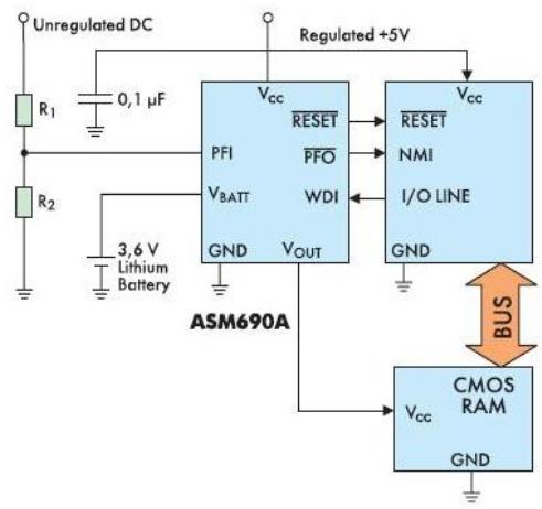 Типовая схема включения ASM690