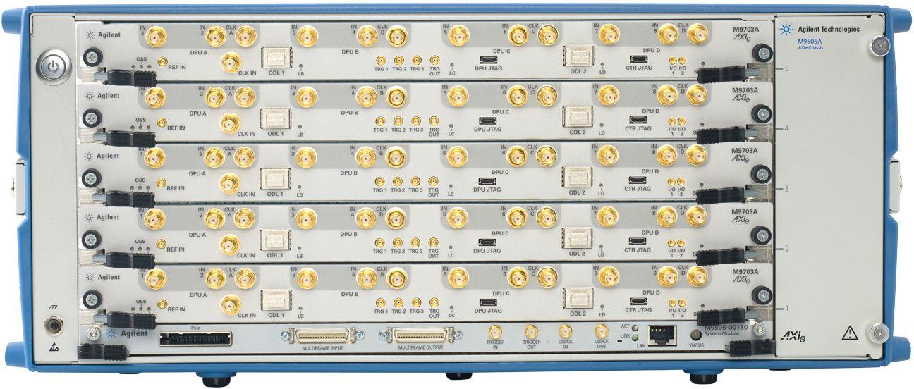 Высокоскоростной дигитайзер формата AXIe для широкомасштабных исследований в области прикладной физики