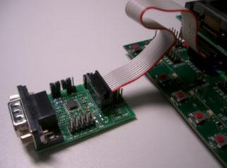 Подключение ATADAPCAN01 к STK500/STK501