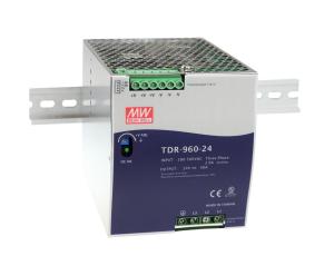 Компактные 960-Вт AC/DC-преобразователи на DIN-рейку