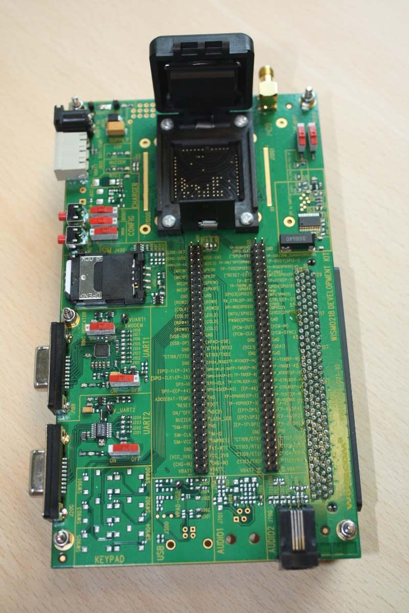 Новый отладочный набор для модулей WISMO 218/228