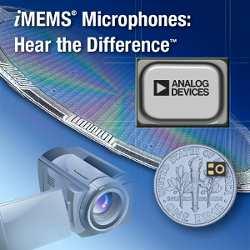 Микроминиатюрные высококачественные микрофоны