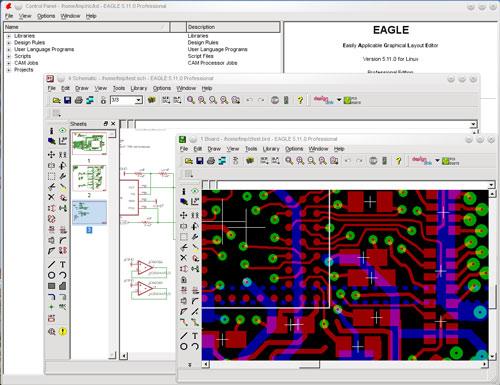 ПО CadSoft EAGLE в помощь инженерам-конструкторам