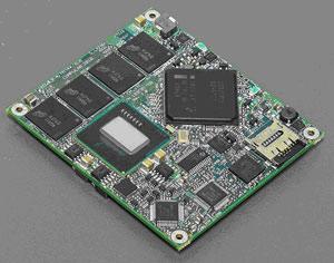 Компьютер на модуле CM-iTC на основе процессора Intel Atom E680