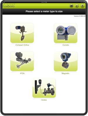 Программа FlowExpertPro для расчета расходомеров Foxboro