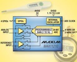 24-битный АЦП для прецизионных измерений с рекордным разрешением