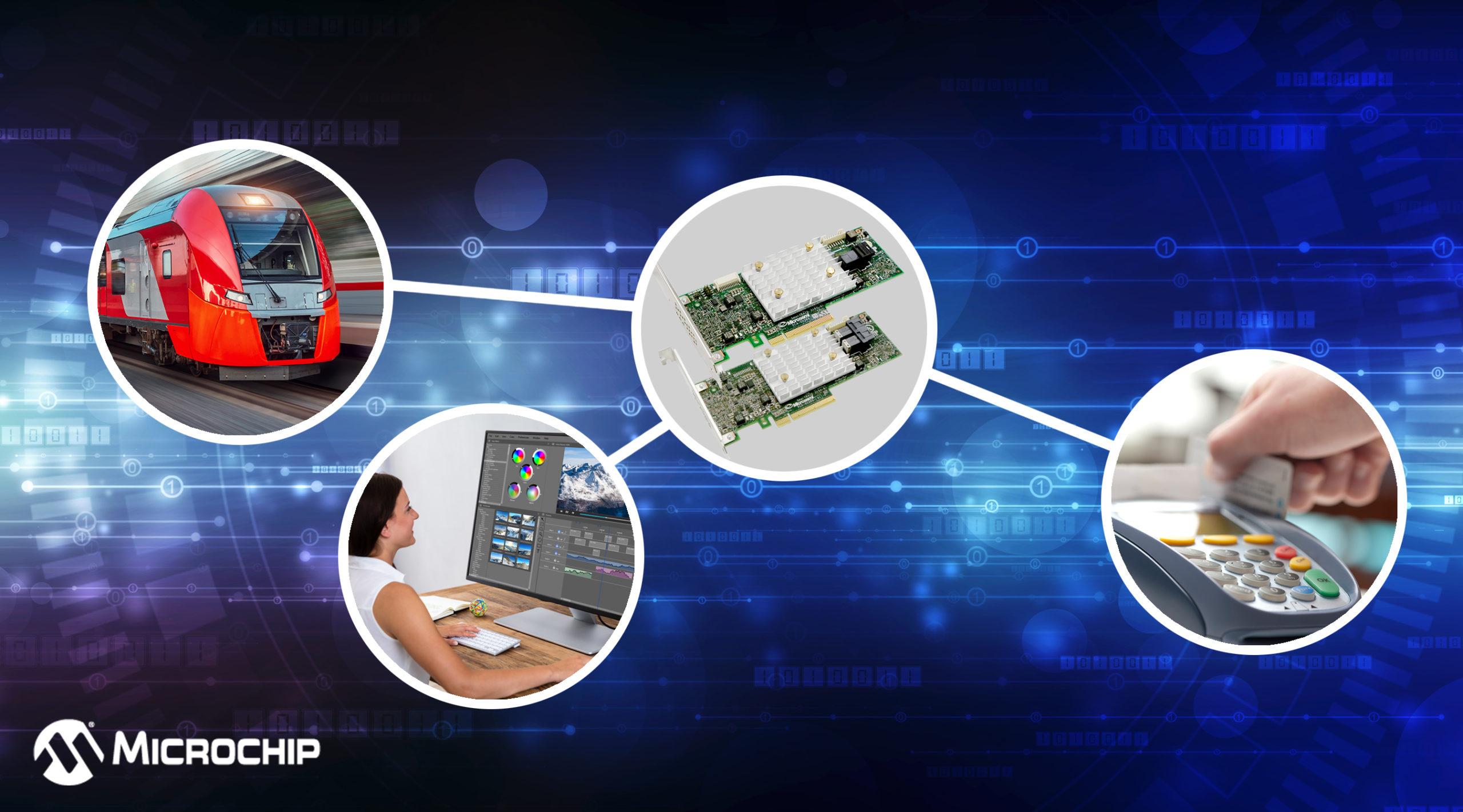 Новые адаптеры начального уровня Adaptec SmartRAID 3100E от Microchip