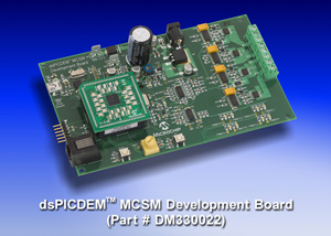 Плата dsPICDEM MCSM Development Board