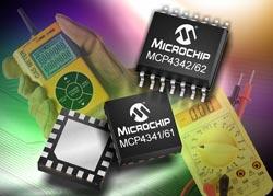 Энергонезависимые четырехканальные цифровые потенциометры от Microchip