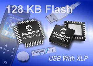 Microchip расширяет семейство микропотребляющих XLP-микроконтроллеров