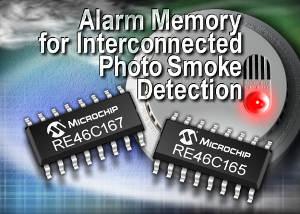Microchip: микросхемы для ионизационных и оптических детекторов дыма