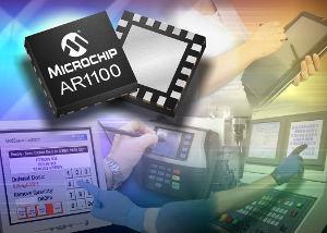 Резистивный USB-контроллер сенсорных экранов от Microchip