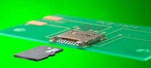Самые маленькие соединители для карт памяти microSD от Molex
