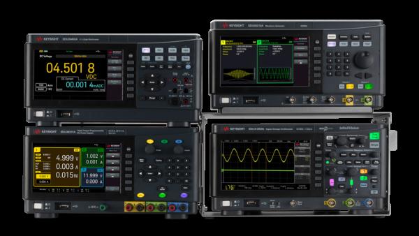 Четыре инструмента с единым графическим интерфейсом и встроенными возможностями анализа и обработки данных от Keysight Technologies
