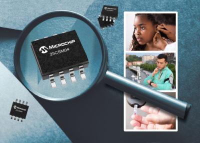 4-Мбит Serial EEPROM-память с самой высокой плотностью от Microchip