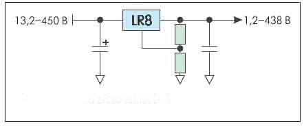 Рисунок 7. Схема включения LR8