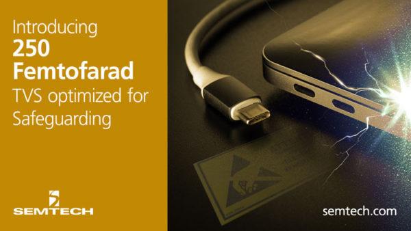 Супрессор RClamp3371ZC компании Semtech для защиты интерфейса USB Type-C