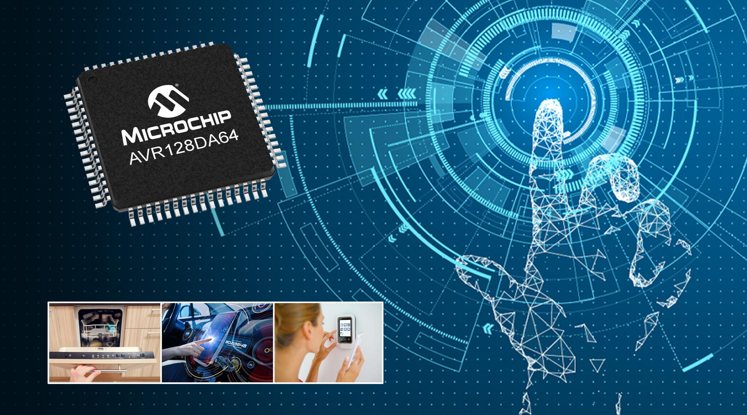 Новое семейство микроконтроллеров AVR DA от Microchip