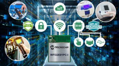 Первый 32-бит микроконтроллерный Wi-Fi-модуль Trust&GO от Microchip с передовой периферией