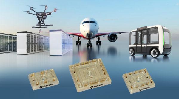 Первое семейство силовых модулей без базовых плат от Microchip по авиакосмическим стандартам