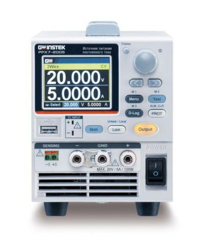 Прецизионные программируемые линейные источники питания постоянного тока серии PPX7 от GW Instek