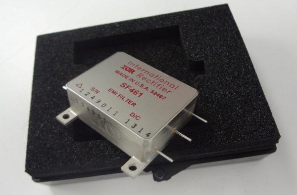 Помехоподавляющий фильтр SF461 GEN II для применения в аппаратуре космических аппаратов