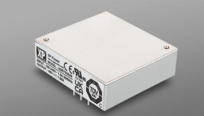 Высокоэффективные источники питания AC/DC на 75 Вт в герметизированном низкопрофильном корпусе